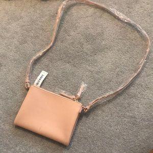 Old navy cross body faux leather